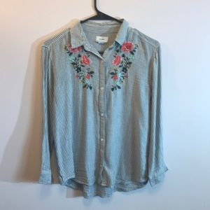 Old Navy Girl's Button Down Shirt